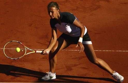 Ролан Гаррос (WTA). Цуренко не заставила Цибулкову нервничать