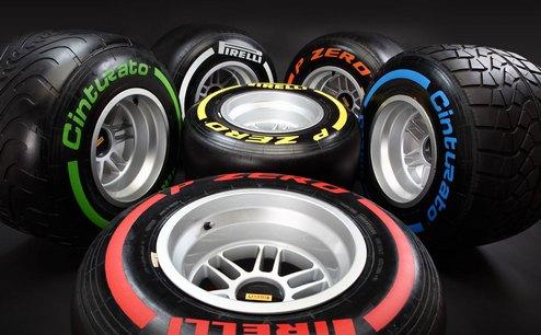 Формула-1. Пирелли: новые шины будут использоваться с Сильверстоуна