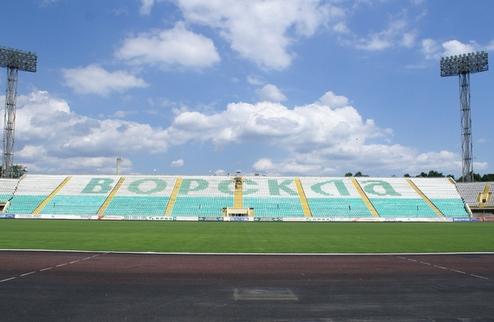 В Полтаве занялись стадионом