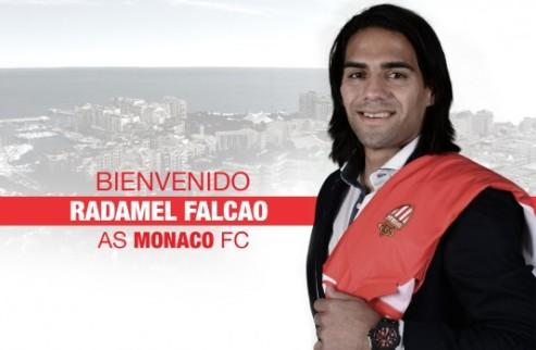 Официально: Фалькао — игрок Монако