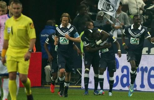 Бордо драматично выигрывает Кубок Франции