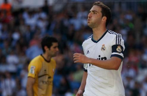 Игуаин сыграл последний матч за Реал