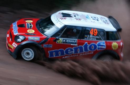 WRC-2. ������ ��������� ��� Mentos Ascania Racing �� Acropolis Rally