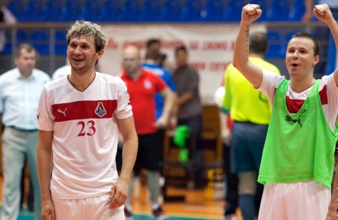 "Футзал. Е. Клочко: ""Выигрывать, только выигрывать, победа в каждом матче"""