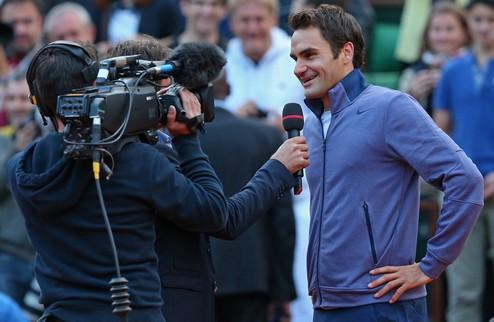 """Федерер: """"Я люблю эту игру"""""""