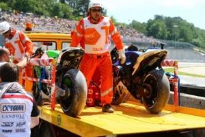 MotoGP. Дирекция: столкновение Росси и Баутисты — гоночный инцидент