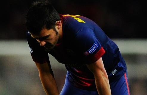 Барселона: продать Вилью, дабы купить Силву