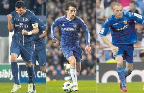 Барселона выбирает между Силвой, Луисом и Матье