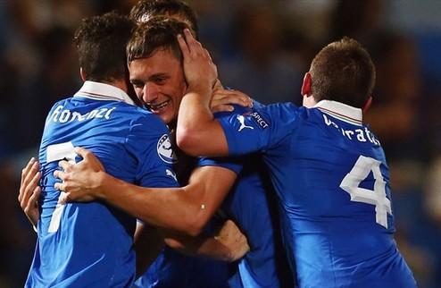 Италия выходит в полуфинал молодежного Евро