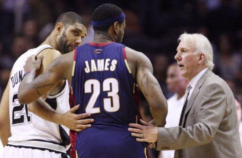 """НБА. Попович: """"Джеймсу не стоит обращать внимание на критику"""""""