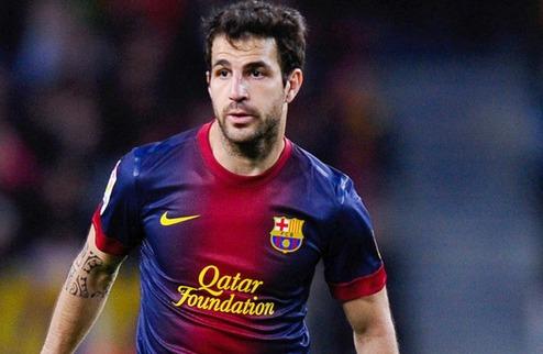 Фабрегас не намерен покидать Барселону