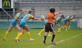 Регби-7. Женская сборная Украины снова проливает пот на сборах