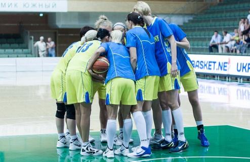 Женская сборная Украины отправилась на Евробаскет
