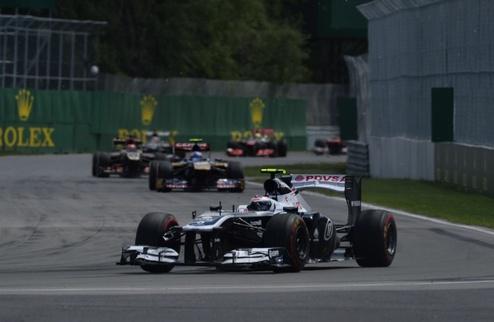 Формула-1. Фрэнк Уильямс доволен скоростью Боттаса