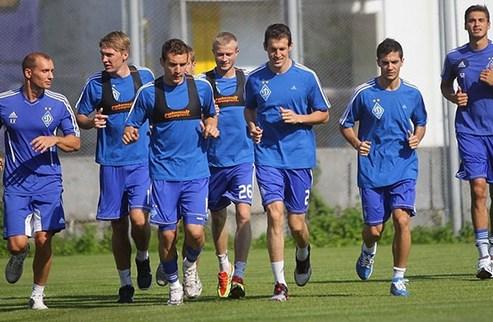 Динамо: первая тренировка в новом сезоне