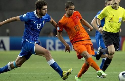 Италия одолела Нидерланды в полуфинале молодежного ЧЕ