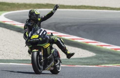 MotoGP. Гран-при Каталонии. Кратчлоу выигрывает разогрев
