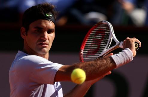 Первый триумф Федерера в сезоне