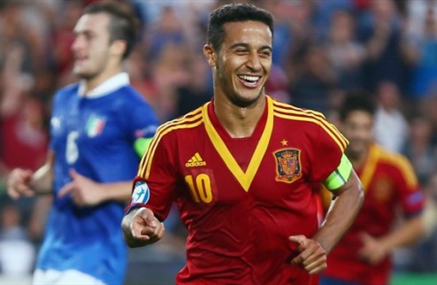 УЕФА назвал символическую сборную молодежного Евро