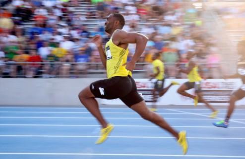 Легкая атлетика. Гэй ставит рекорд сезона в беге на 100 метров