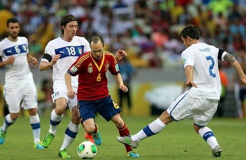 Испания по пенальти обыграла Италию