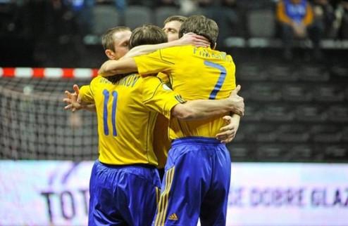 Футзал. Уже в среду Украина узнает соперника по плей-офф на Евро-2014
