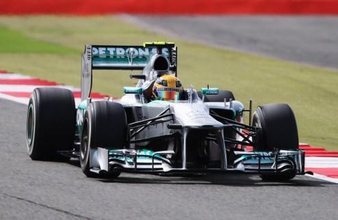 Формула-1. Гран-при Великобритании. Хэмилтон на поуле, Алонсо в десятке