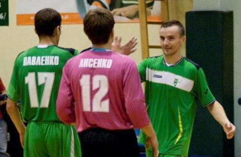 Футзал. Ураган, Энергия и Кардинал сыграют на турнире в Польше