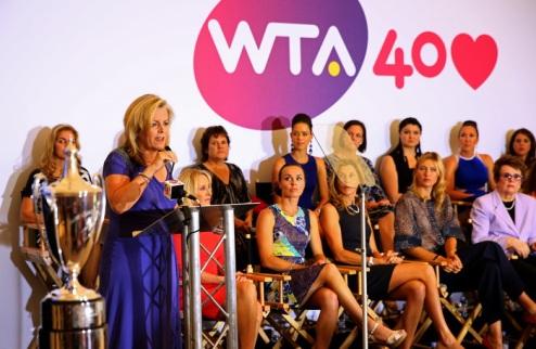 40 ��� WTA. ����