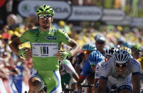 Тур де Франс. Cannondale дарит Сагану победу