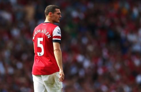Травма не позволит Арсеналу продать Вермалена