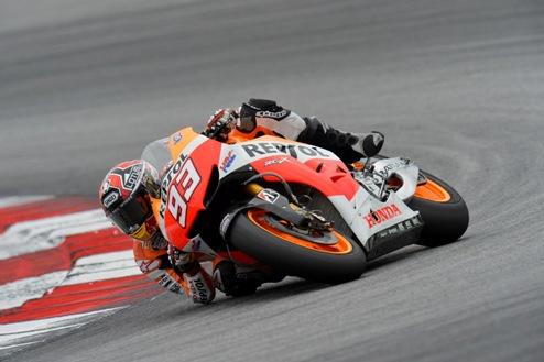 MotoGP. Гран-при Германии. Маркес выигрывает свободные заезды, Педроса ловит хайсайд