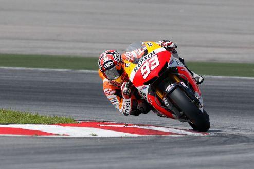 MotoGP. Гран-при Германии. Поул Маркеса, первый ряд Росси
