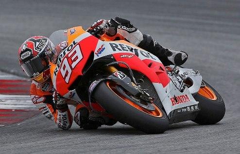 MotoGP. Гран-при Германии. Маркес выигрывает разогрев, Педроса пропускает заезд