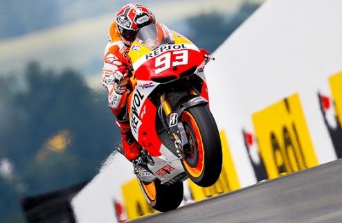 MotoGP. Гран-при Германии. Победа Маркеса, подиум Росси