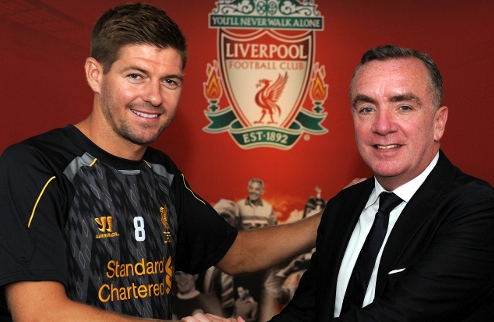 Официально: Джеррард продлил контракт с Ливерпулем