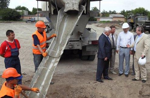 В Киевской области начато строительство третьего ледового Дворца спорта