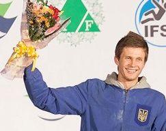 Скалолазание. Украинец Болдырев — призер чемпионата Европы
