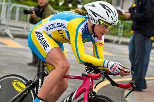 Велоспорт. Украинка Соловей — чемпионка Европы в категории U23
