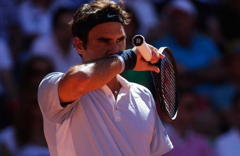 Гамбург (АТР). Федерер остался без финала