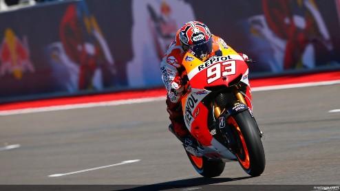 MotoGP. Гран-при США. Маркес побеждает Брадля