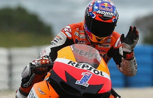 MotoGP. Стоунер протестирует Хонду