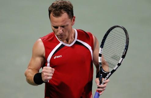"""Расселл: """"Фиш показал отличный теннис"""""""
