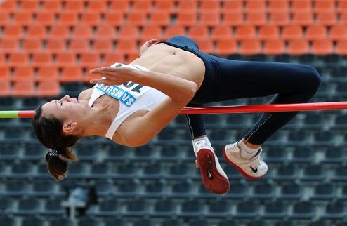 Легкая атлетика. ЧУ. Неожиданная высота Окуневой и Кримаренко