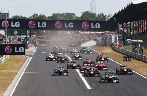Формула-1. Гран-при Венгрии. Хэмилтон впервые побеждает за рулем Мерседеса