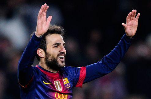 Агент: Фабрегас останется в Барселоне