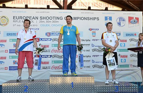 Пулевая стрельба. Украинец Бондарук — чемпион Европы