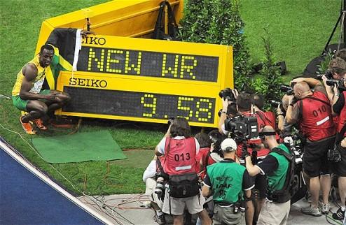 Легкая атлетика. Болт намерен штурмовать мировой рекорд на стометровке