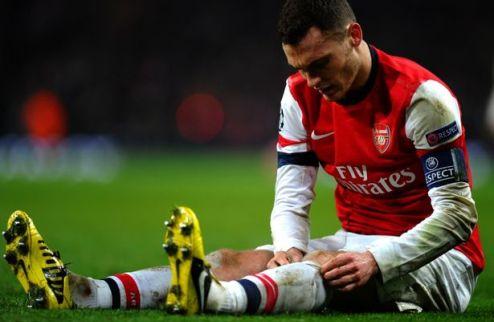 Арсенал: еще 1,5 месяца без Вермалена
