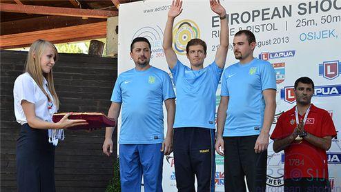 Пулевая стрельба. Еще четыре медали для Украины на чемпионате Европы